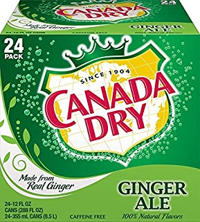 Canada Dry Ginger Ale Cans, 24 Count, 12 Fl oz