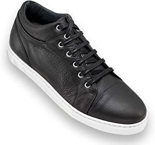Masaltos Zapatos de Hombre con Alzas Que Aumentan Altura Hasta 7 cm. Fabricados EN Piel. Modelo Miami