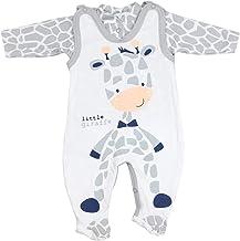 TupTam Estampado Pelele y Traje para Bebé, Set de 2 Piezas