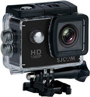 """SJCAM SJ4000 (versión española) - Videocámara Deportiva (LCD, 2"""", 1080p, 30 fps, Sumergible), Color Negro (Reacondicionado..."""