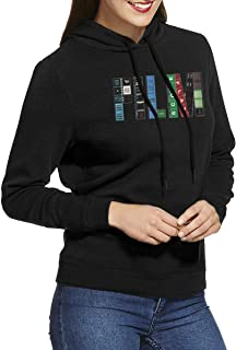 DGGE Film Womens Hoodies Sweatshirts Clothing and Sports