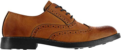 Giorgio Chaussures Brogues Lacets Marrons Hommes Habillé Chaussures