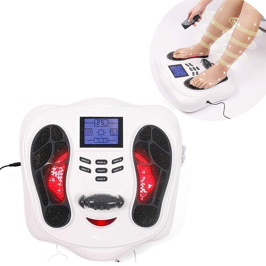 代替どこにもマンハッタン医療健康エレクトリック指圧フットマッサージ機Footspa筋セラピー循環血液ブースターディープ混練赤外線加熱