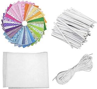 Fugift - Kit di copertura per il viso fai da te, set di 35 pezzi, copertura per il viso e 100 strisce per il naso e 10 m f...