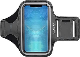 Ligero conexi/ón Auriculares Negro S/úper-Confort con Ranura para el Titular de la Llave JD Compatible para Brazalete Samsung Galaxy Note 9, Brazalete Deportivo Ultra-Delgado