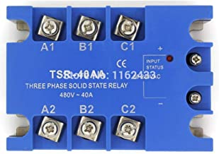 TSR-40AA Three Phase AC to AC 40A 90-480VAC Solid State Relay/SSR