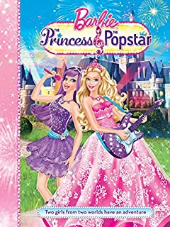 Barbie and the Princess and the Popstar Story Book Mattel Inc.