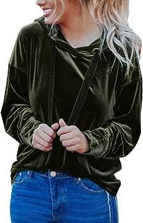Best velvet hooded sweatshirt Reviews