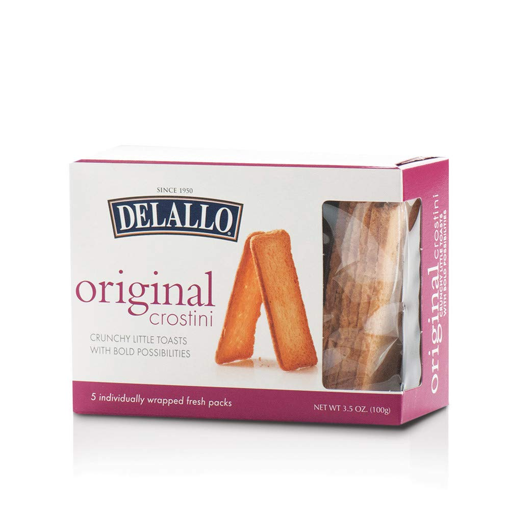 DeLallo Original Crostini Toasts 4 3.5 pack Reservation Finally resale start oz