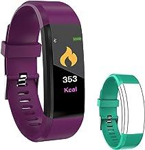 IULONEE Fitness Tracker Smart Watch, Activity Tracker IP67 Waterproof, Smart Bracelet Pedometer Watch with Heart Rate Blood Pressure Monitor Sleep Calorie Step Counter for Women Men and Kids