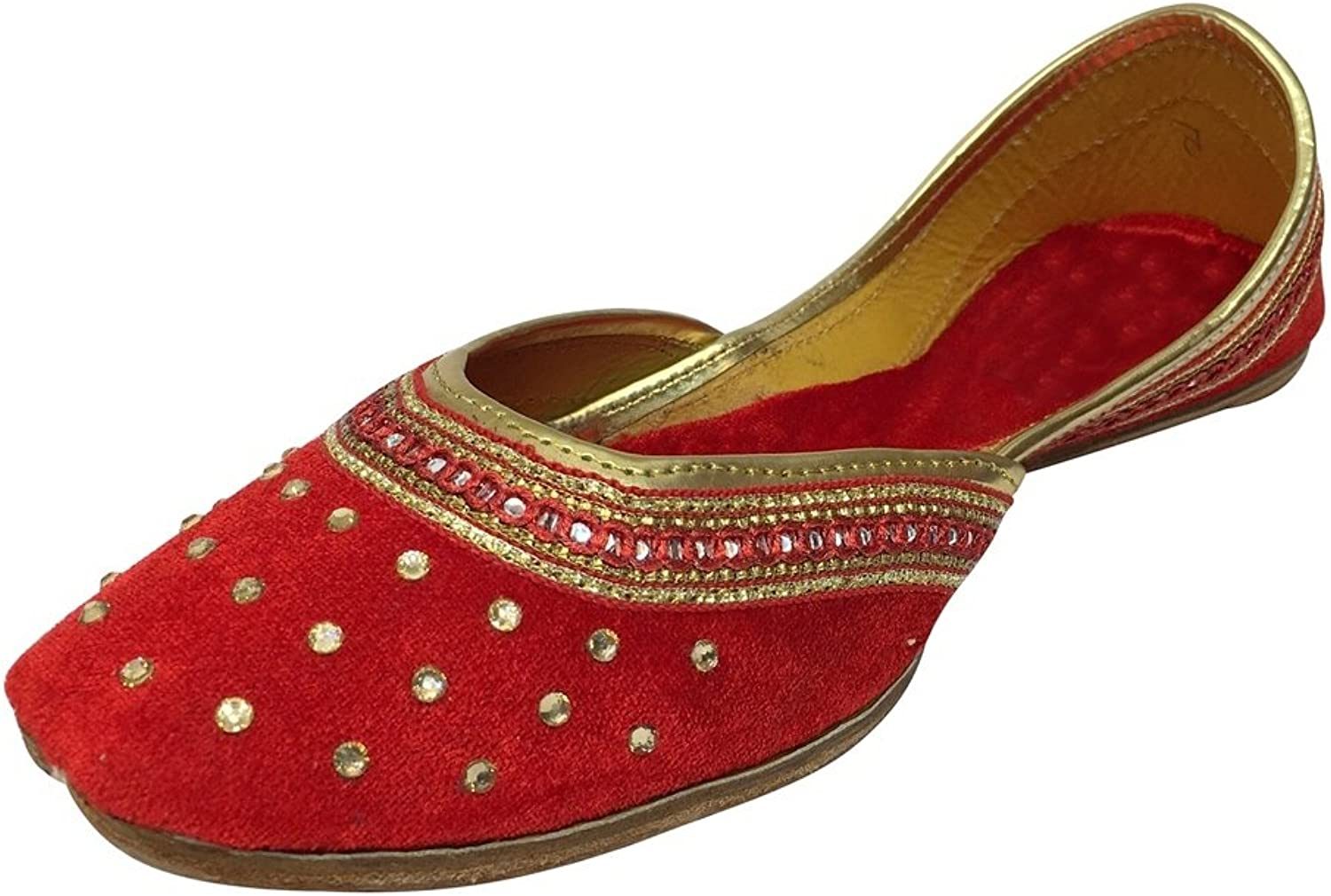 Step n Style Punjabi Jutti Flat shoes Wedding shoes Khussa shoes Indian shoes Juti