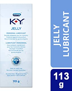 K-Y Jelly Sexual Personal Lubricant; 113g