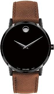 Movado - Museum Classic Reloj de Hombre Cuarzo 40mm Correa de Cuero 0607198