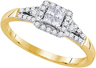 Best princess cut diamond with square frame Reviews