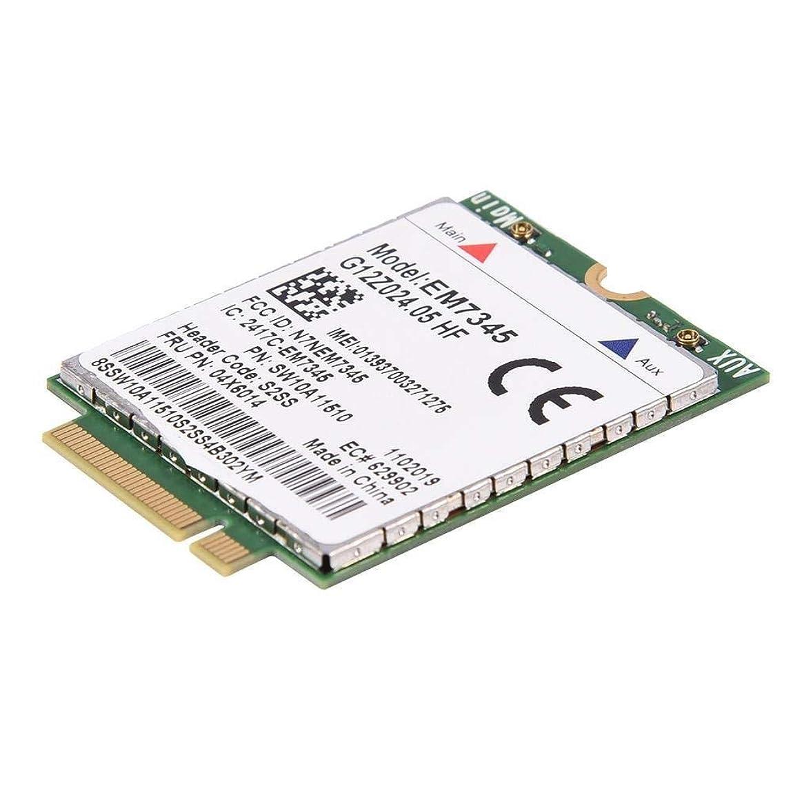 ダイアクリティカル虹代表するEM7345カード thinkpad 4G LTE WWANカード用