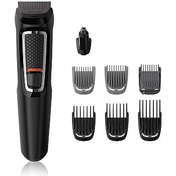 Philips MG3730/15 8-in -1 Hair Clipper & Face Multigroomer Trimmer Kit (Black)