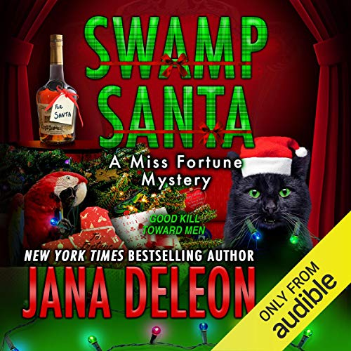 Swamp Santa audiobook cover art