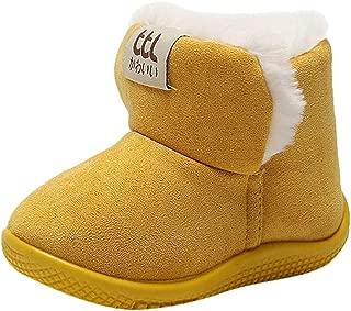 KUKICAT Bottines Plates /à Lacets B/éb/é Fille Garcon en Cuir Hiver Automne Soldes Chaussures Camouflage Casual Enfant Boots