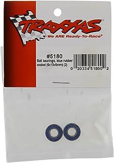 Traxxas Rubber Sealed Ball Bearing, Black, 6x13x5mm, 2 Pcs