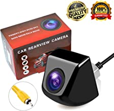 Backup Camera,Lord Eagle Rear View Camera with IP69K Waterproof Great Night Vision HD and 170 Degree Super Wide Angle Reverse View Camera Monitor for Cars,Vans,Trucks,Camping Cars,RVs