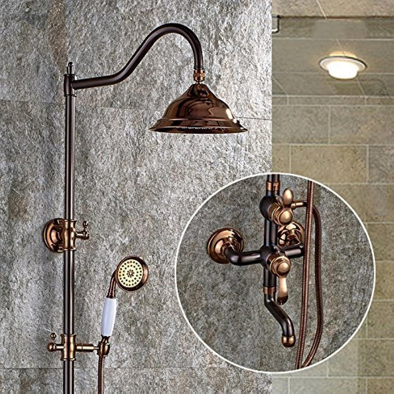 Zxyeuropean Stil Antik Bronze Dusche, Alle Kupfer Antiken Europischen Stil Wasserhahn Dusche Heben Kann