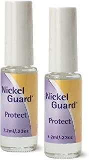 Nickel Guard - No Nickel - 2 Pack of Protective Coating Solution for Nickel Objects