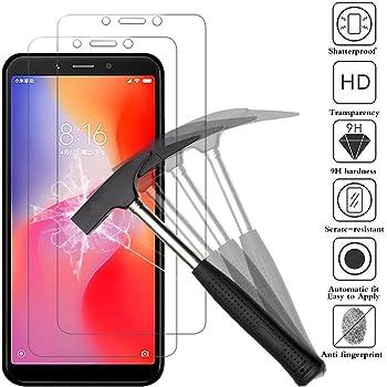 ANEWSIR [2 Pack Protector de Pantalla para Xiaomi Redmi 6 / Xiaomi ...