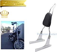 Newest!!! Motorcycle Sissy Bar Backrest + Leather Pad For Honda CA250 Rebel 250 CMX250 Heavt-Duty