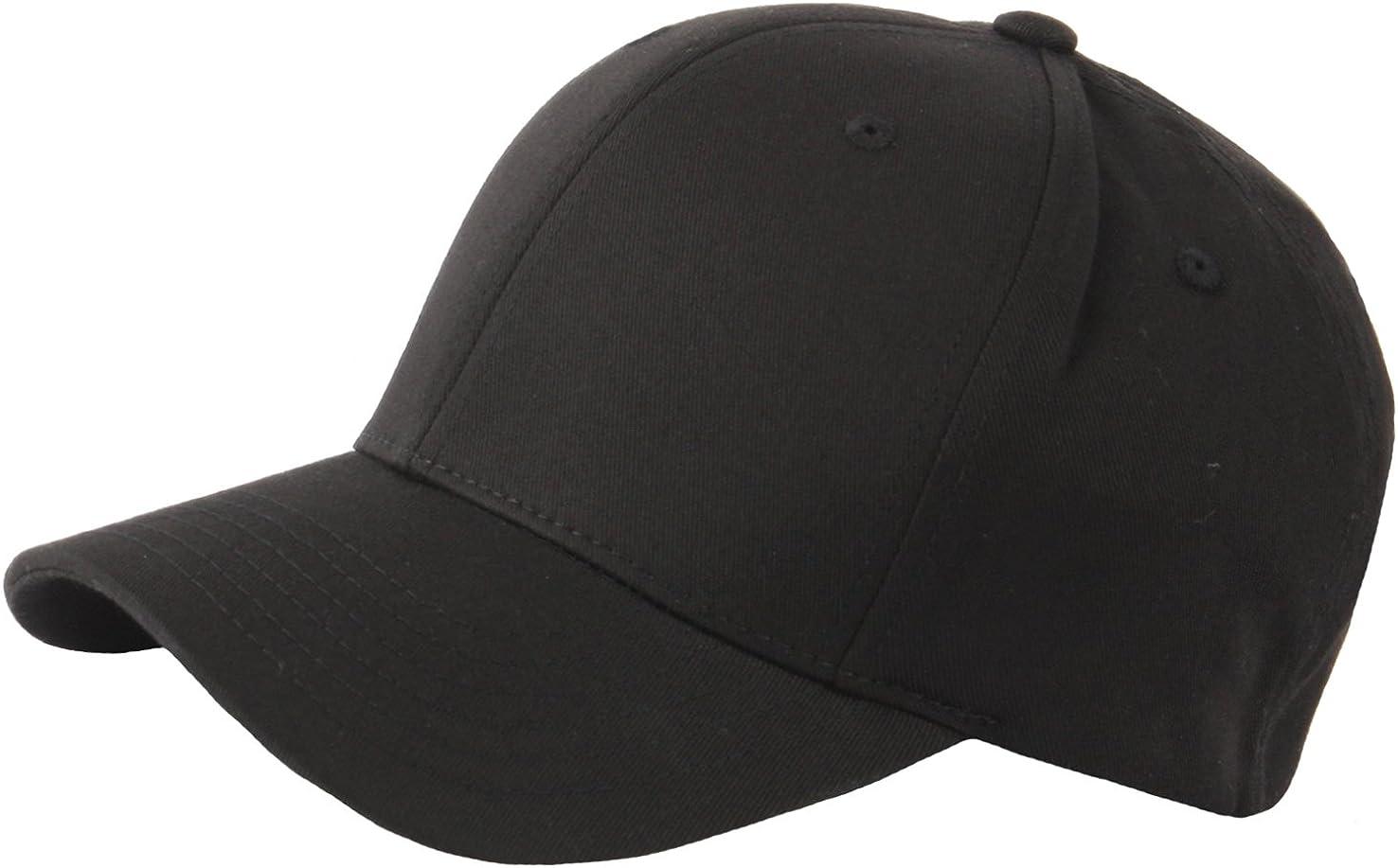 RaOn G57 Men Spandex Empty Plus Size XL XXL Flex Big Ball Cap Baseball Hat Truckers