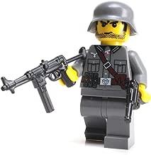 Battle Brick German WW2 MP40 Soldier (SKU22) Custom Minifigure