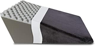 """The White Willow Bed Wedge Back Support Cushion Pillow for Sleeping (24"""" L x 24"""" W x 12"""" H) Leg Elevation - Convoluted Act..."""