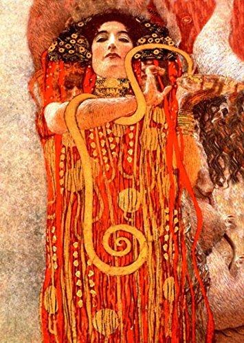 Klimt Poster Art 09 70x100 cm Poster Stampa Arte Arredamento Riproduzione su Carta Opaca Matt gr.200 papiarte