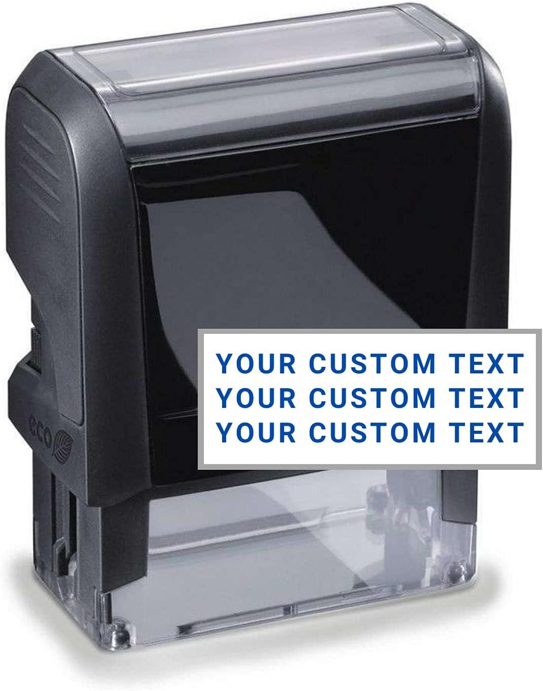 Custom Address Sale Stamp - 20 Font Options Addr Self-Inking Line Max 52% OFF 3