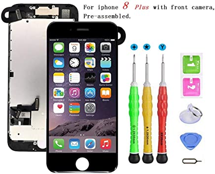 Screen Replacement Compatible with iPhone 8 Plus Full...