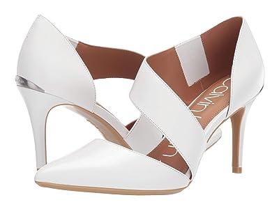 Calvin Klein Gella Pump (White) High Heels