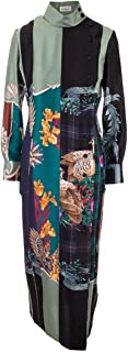 SALVATORE FERRAGAMO Luxury Fashion Womens 13W046 Multicolor Dress | Fall Winter 19
