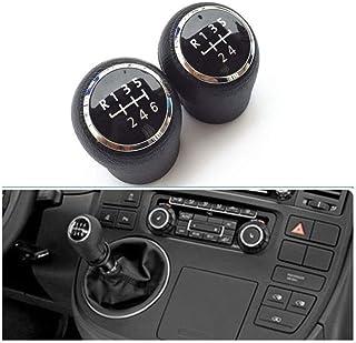 YINSHURE Car 5//6 Speed Gear Stick Shift Knob,For VW Transporter Multivan Caravelle T5 2003 2004 2005 2006 2007 2008 2009 2010