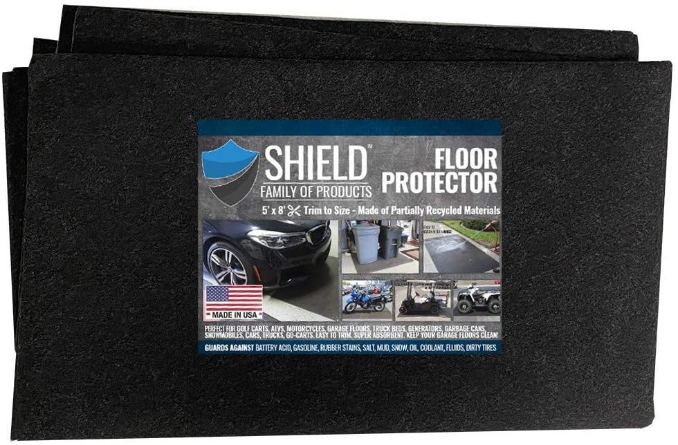 Shield Max 79% OFF Family Floor Protector - – Premium Absorbent Price reduction Oil Mat