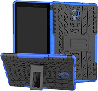 Folice Case for Samsung Galaxy Tab A 10.5 Case 2018(SM-T590/T595/T597), [Heavy Duty][Shockproof] Hybrid Rugged Hard Rubber PC Tough Dual Layer Protective Case Cover with Kickstand (Blue)