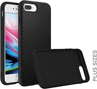 RhinoShield Case for iPhone 8 Plus/iPhone 7 Plus [SolidSuit] | Shock Absorbent Slim Design Protective Cover [3.5 M / 11ft Drop Protection] - Carbon Fiber