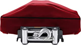 Winch Cover, Heavy Duty Winch Cloth Cover, Waterproof Winch Dust Cover, Winch Protection Cover Ideal for Electric Winches Up to 17500 Lbs, Big Size and Satisfaction Guarantee Purchase