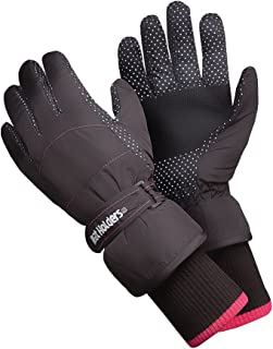 Heat Holders - Womens Extra Warm Waterproof Insulated Winter Thermal Ski Gloves