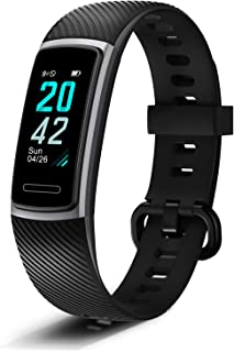 Letsfit Fitness Tracker, Activity Tracker with Heart Rate Monitor, Pedometer Watch with Sleep Monitor, Step Calorie Counter, Smart Bracelet for Women and Men