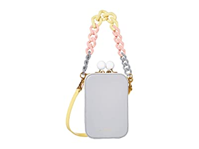 Marc Jacobs The Vanity MJ Color-Blocked (Grey Multi) Handbags