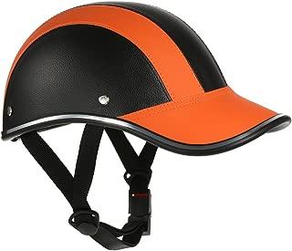 Motorcycle Helmet Half Face Baseball Cap Style with Sun Visor