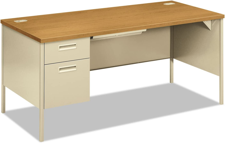HON P3266LCL Metro ! Super beauty product restock quality top! latest Classic Left Pedestal x 30d 66w Harves Desk