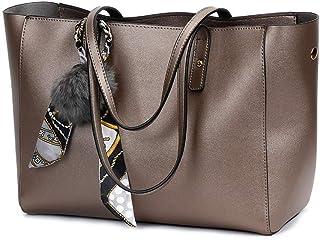 Shoulder Bag Hobos & Shoulder Bags Totes Women's Bag Fashion Handbag Shoulder Slung pu Child Bag Handbag Clutch (Color : Bronze)