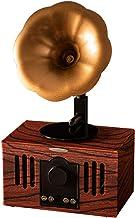 $102 » XQJJFJ Music Box Small Portable Bluetooth Speaker Retro Vintage Phonograph Shape Home Decor,Built in Mic,TF Card Slot Wood...