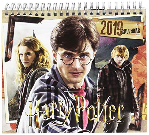 Grupo Erik Editores CS19010 Tafelkalender 2019 Harry Potter, 17 x 20 cm