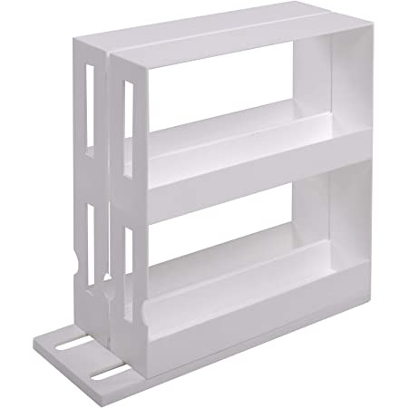 UPP® - Estantería para Especias I cajón retráctil para condimentos y Especias I estantería Vertical retráctil, especiero I Almacenamiento Vertical ...